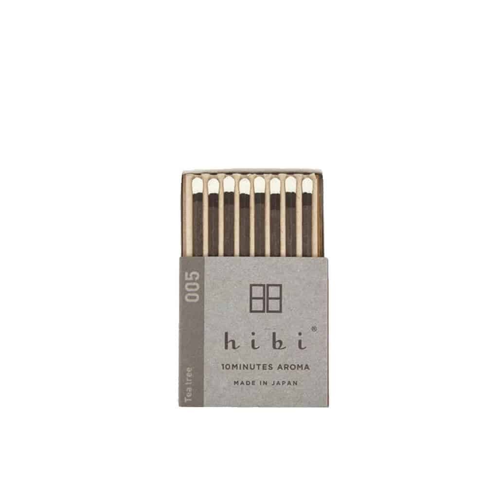 Tea Tree Incense Matches by Hibi