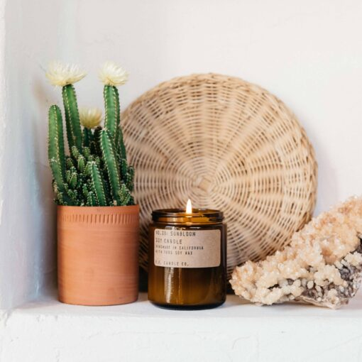 No.33 Sunbloom Scented Candle by P.F. Candle Co.