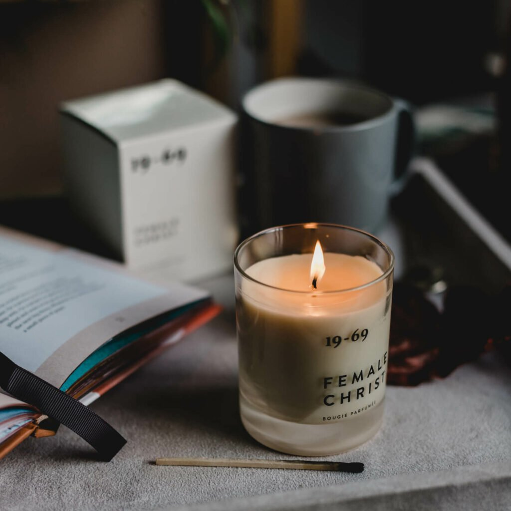 Female Christ Scented Candle by 19-69