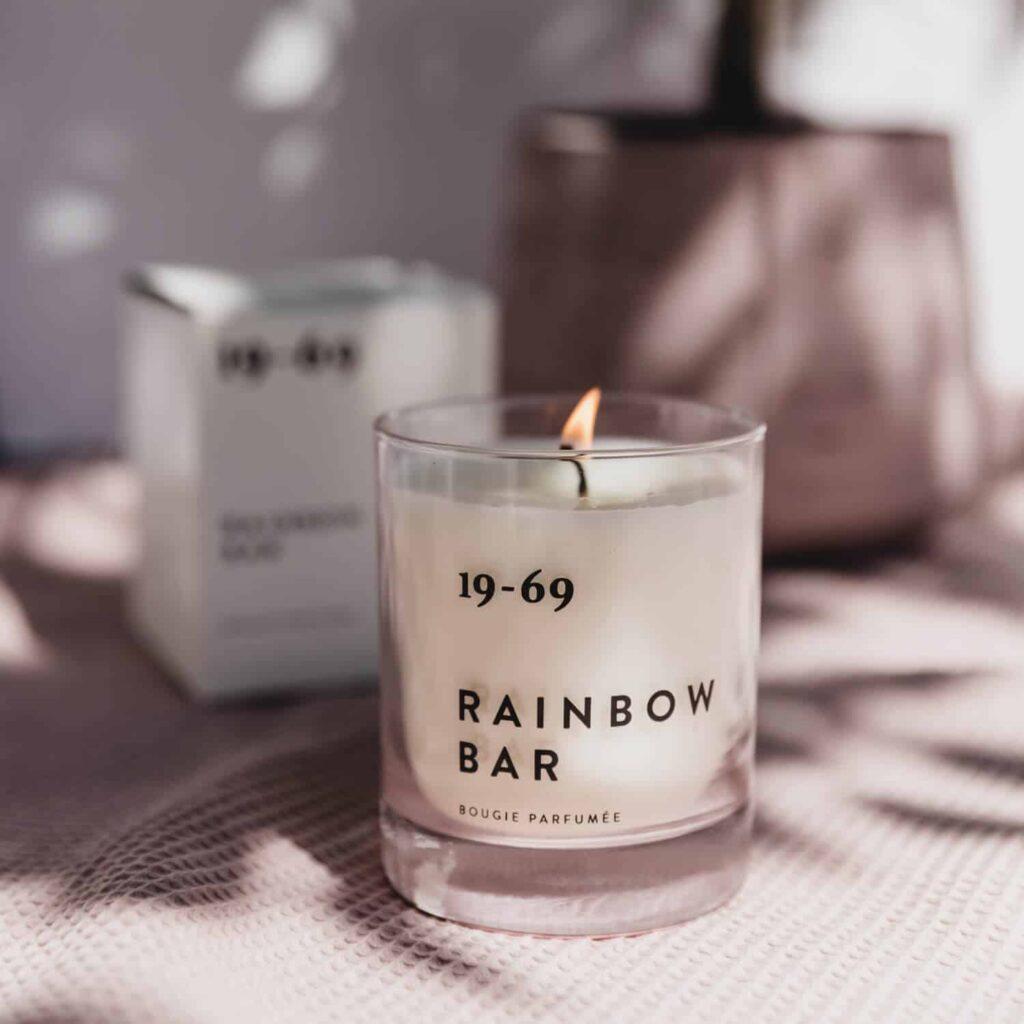 Rainbow Bar Candle by 19-69