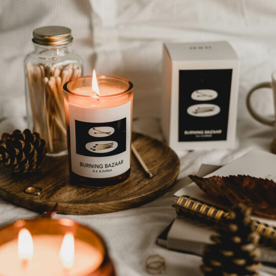 Burning Bazaar Scented Candle by D.S. & DURGA