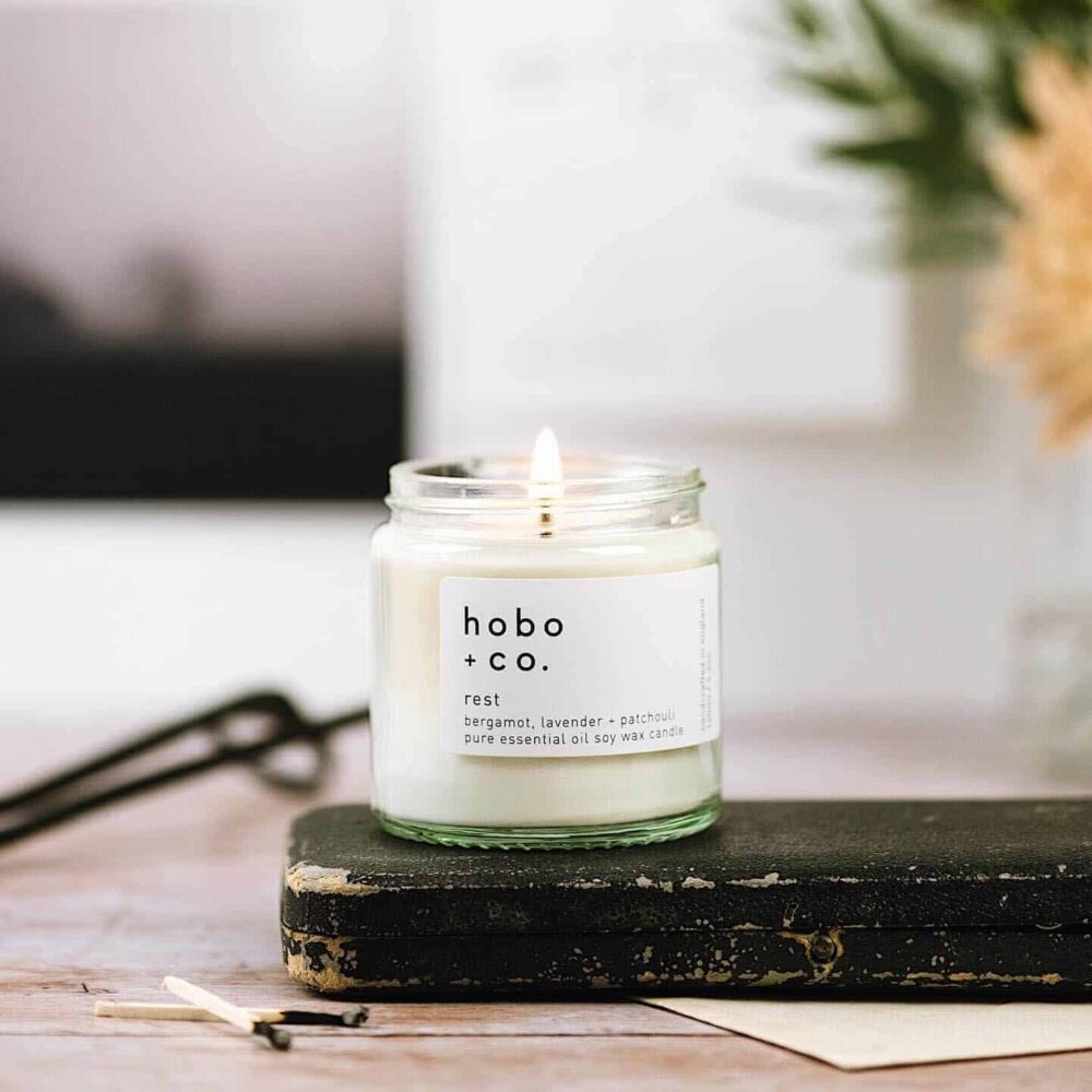 Rest Scented Candle by Hobo & Co.