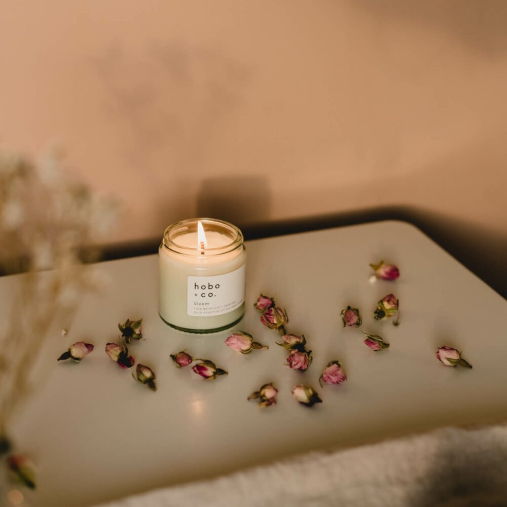Bloom Scented Candle by Hobo & Co.