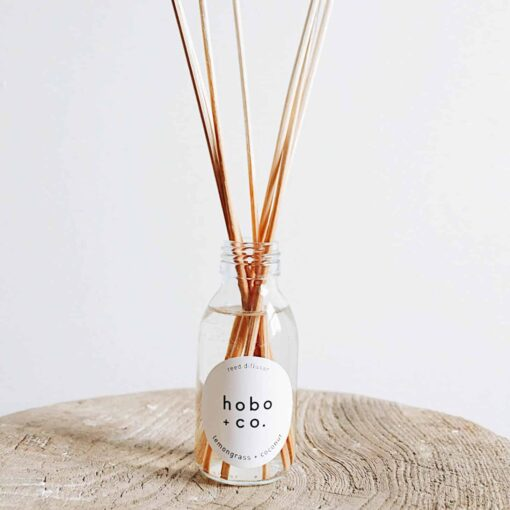 Lemongrass & Coconut Diffuser by Hobo & Co.