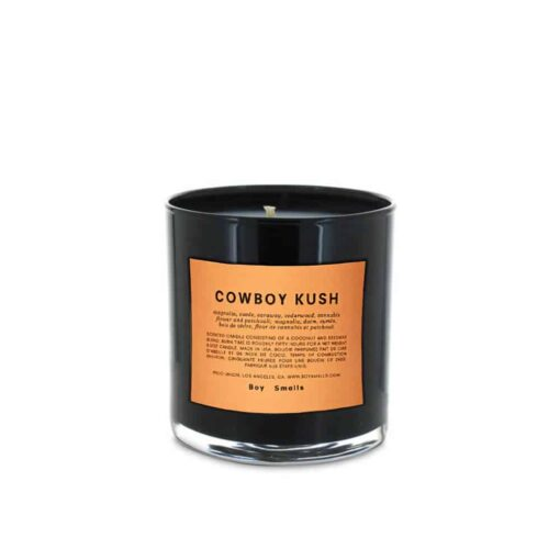 Cowboy Kush Scented Candle by Boy Smells