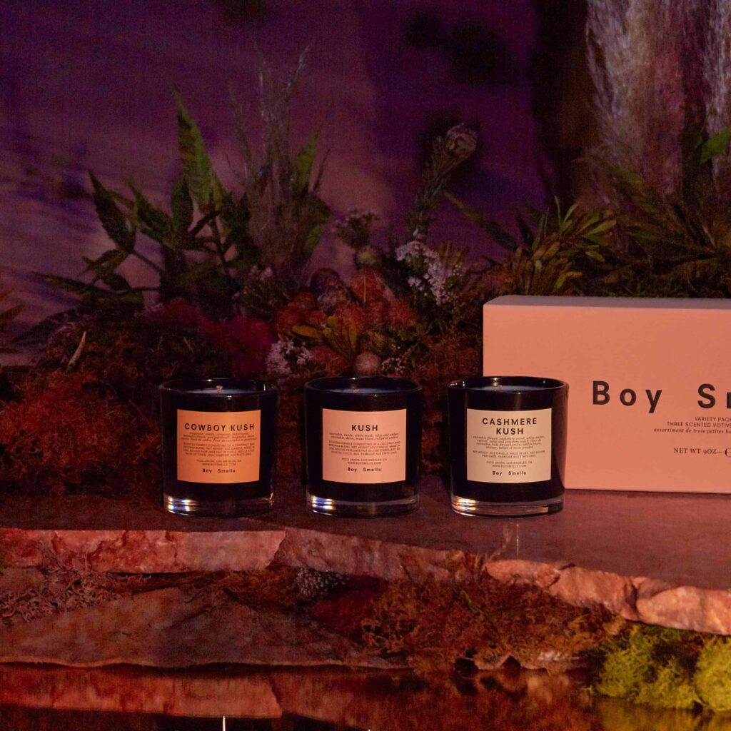 420 Kush Scented Candle Gift Set by Boy Smells