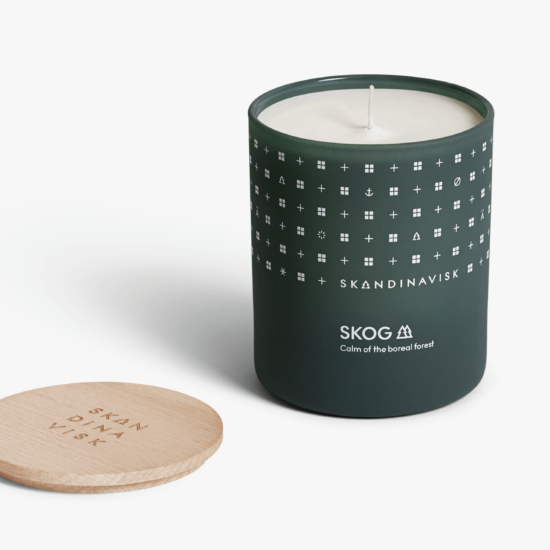 SKOG (Forest) Scented Candle by Skandinavisk