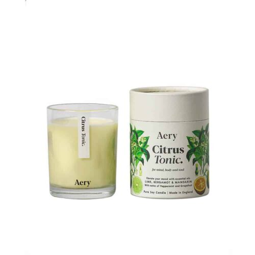 Citrus Tonic Scented Candle by Aery