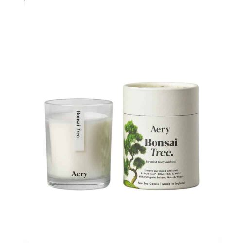 Bonsai Tree Scented Candle by Aery