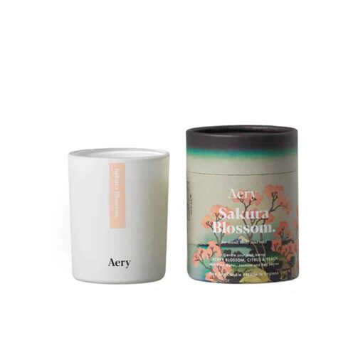 Sakura Blossom Scented Candle by Aery