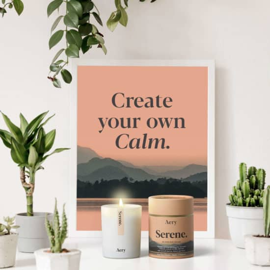 Serene Scented Candle by Aery