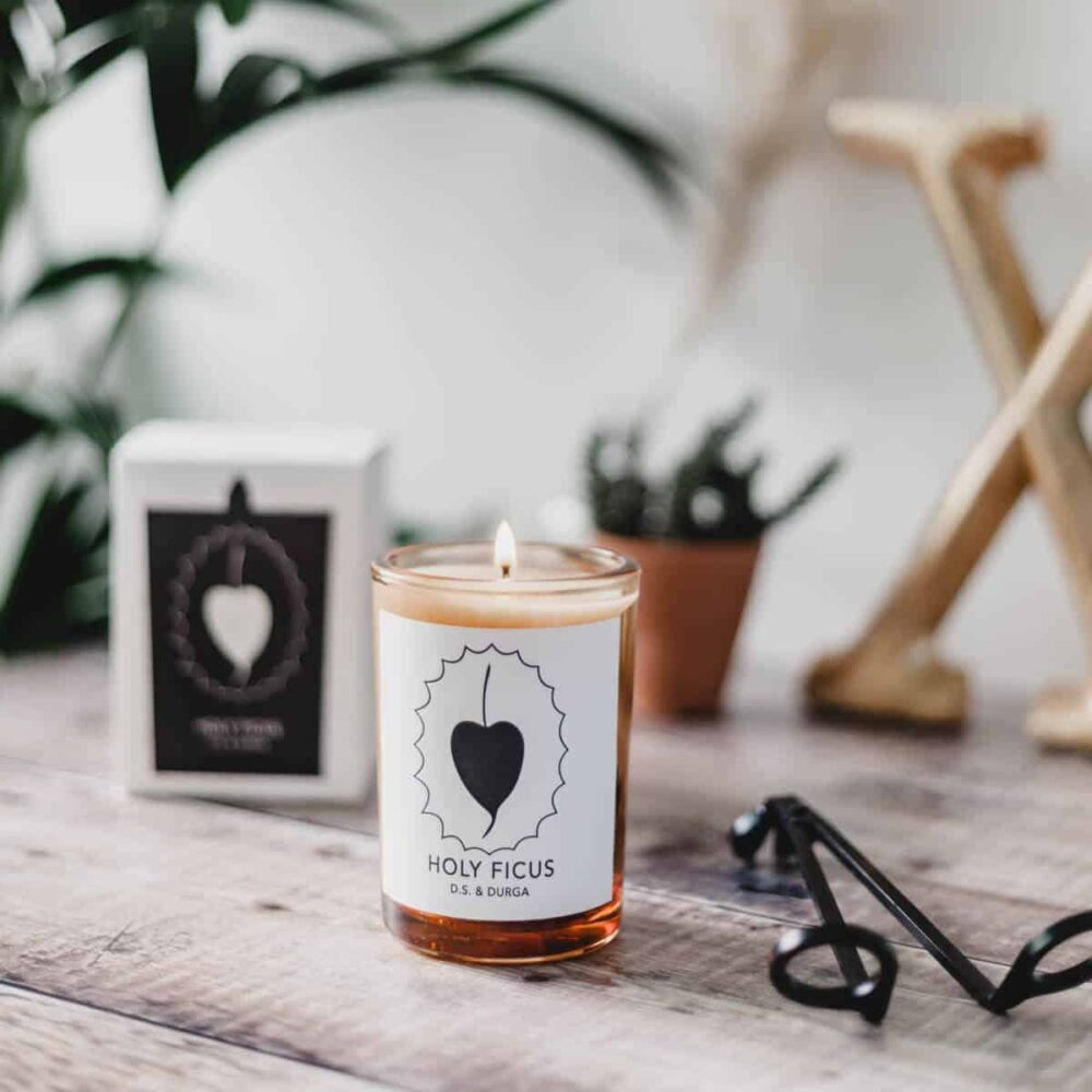 Holy Ficus Scented Candle by D.S. & DURGA