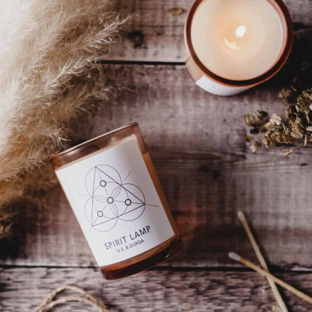 Spirit Lamp Scented Candle by D.S. & DURGA