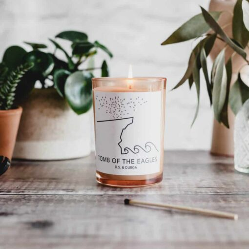 Tomb of the Eagles Scented Candle by D.S. & DURGA