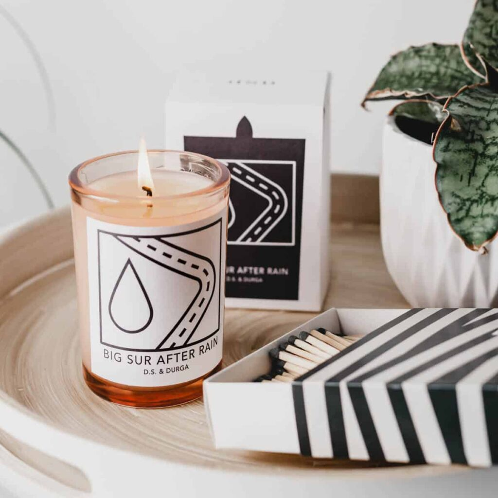 Big Sur After Rain Scented Candle by D.S. & DURGA
