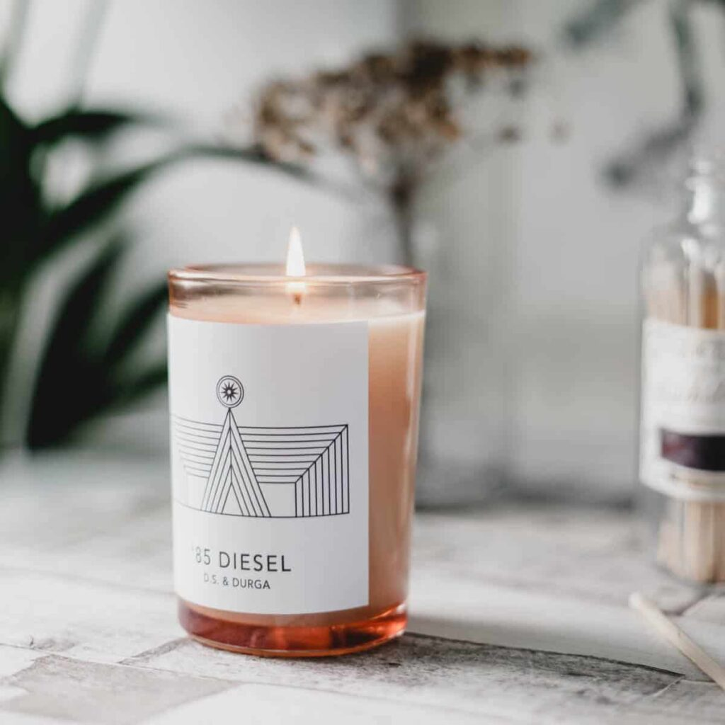85 Diesel Scented Candle by D.S. & DURGA