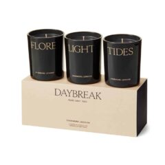 Daybreak Scented Candle Gift Set by Evermore