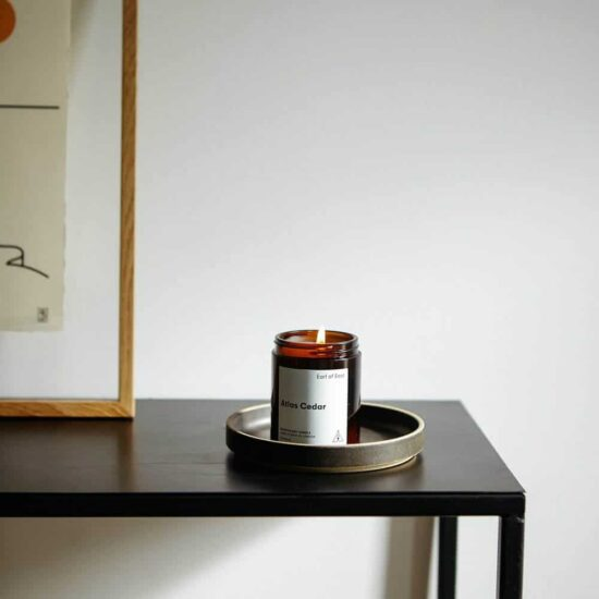 Atlas Cedar Scented Candle by Earl of East London