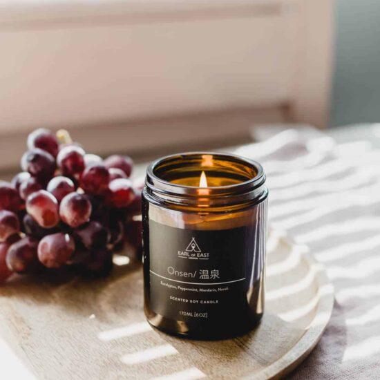 Onsen Scented Candle by Earl of East London