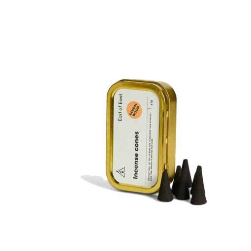 Sandalwood Incense Cones by Earl of East