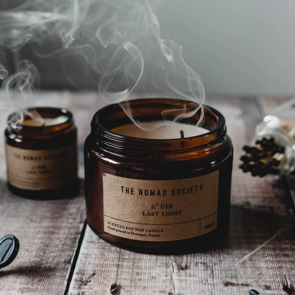 Last Light Scented Candle by The Nomad Society