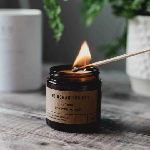 Forever Sunday Scented Candle by The Nomad Society
