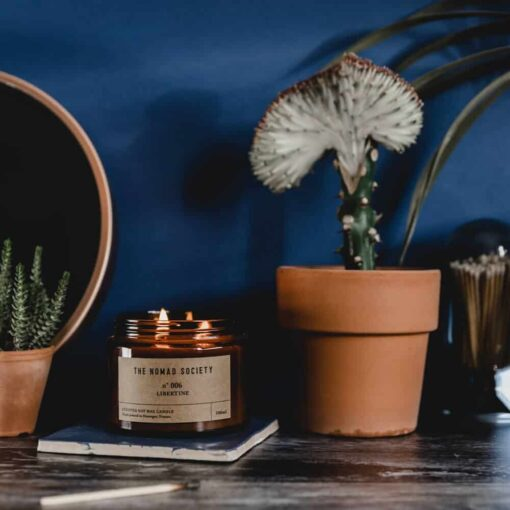 Libertine Scented Candle by The Nomad Society