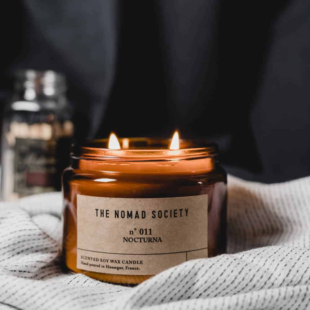 Nocturna Scented Candle by The Nomad Society