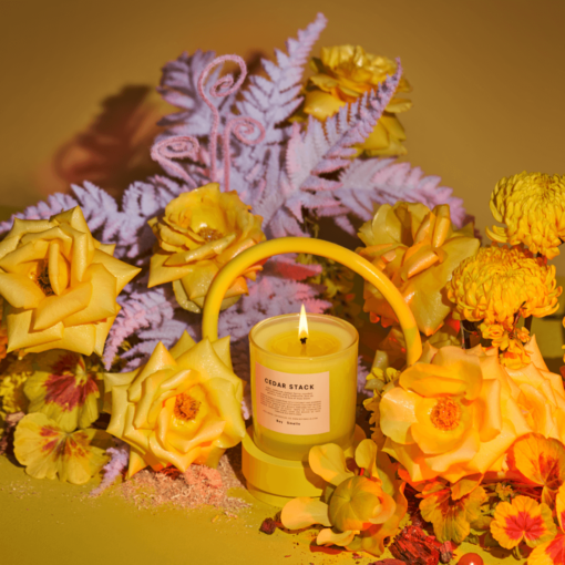 Cedar Stack Scented Candle by Boy Smells // Pride Collection