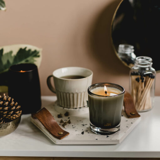 Woodsmoke Scented Candle by Tatine