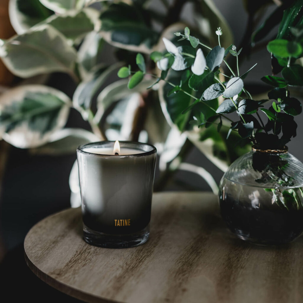Forest Floor Scented Candle by Tatine