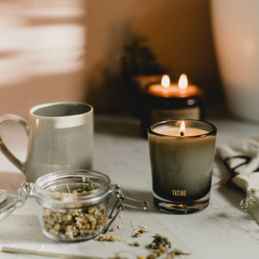 Woodsmoke Candle by Tatine