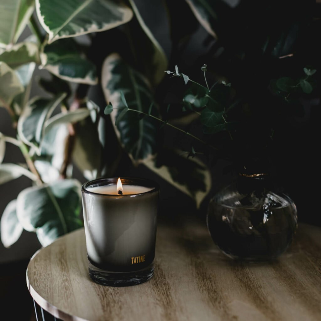 Pine Scented Candle by Tatine