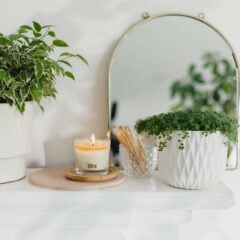 Field Of Grass Scented Candle by Tatine
