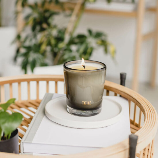 Bergamot Scented Candle by Tatine