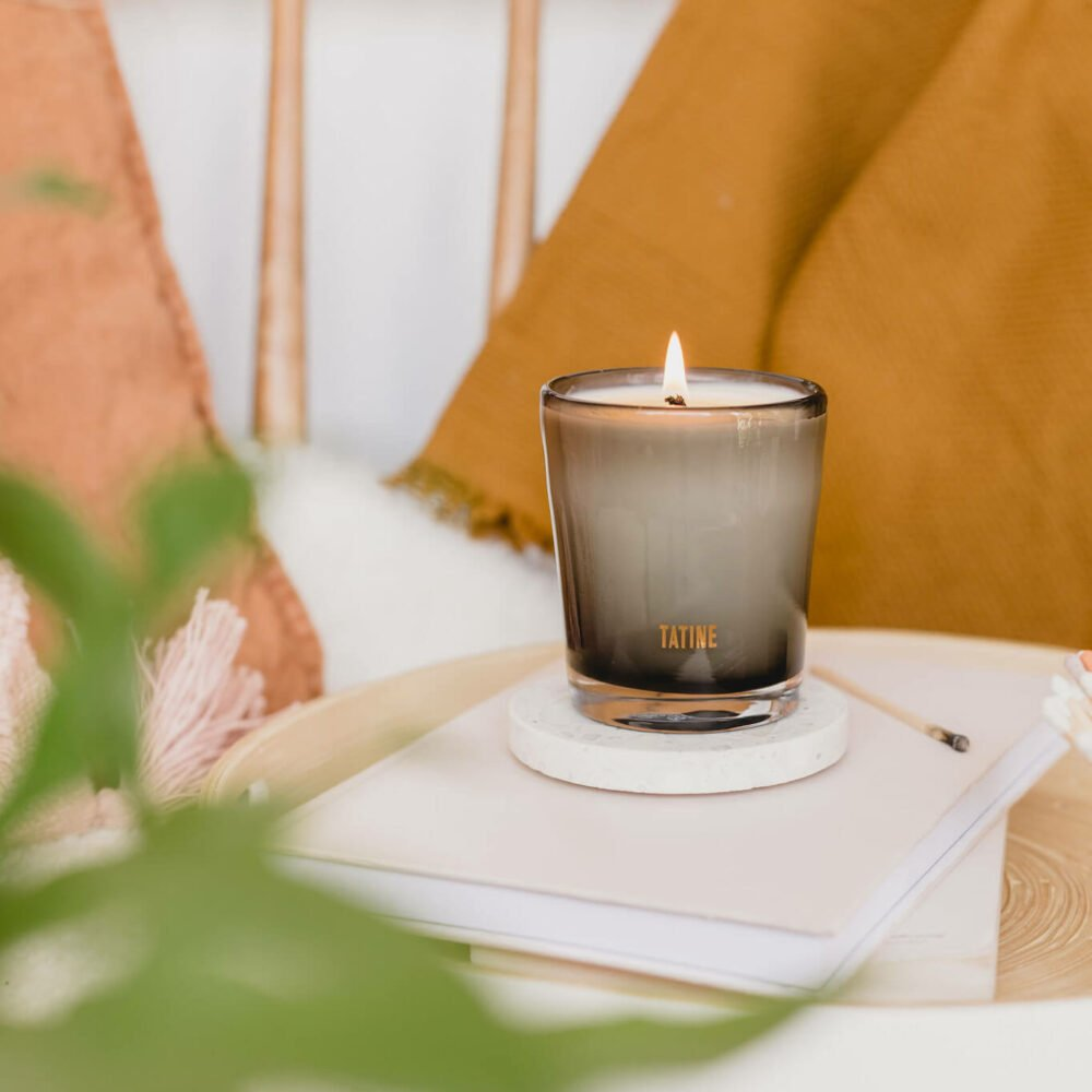 Bergamot Scented Candle by Tatine