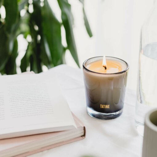 Bitter Orange & Lavender Scented Candle by Tatine