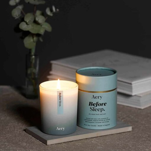 Before Sleep Scented Candle by Aery