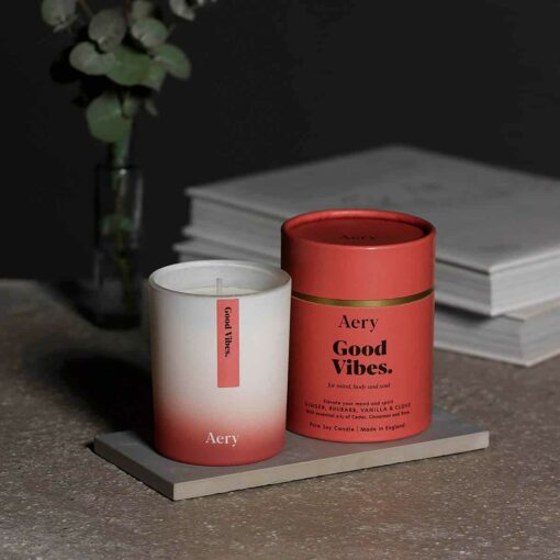 Good Vibes Scented Candle by Aery