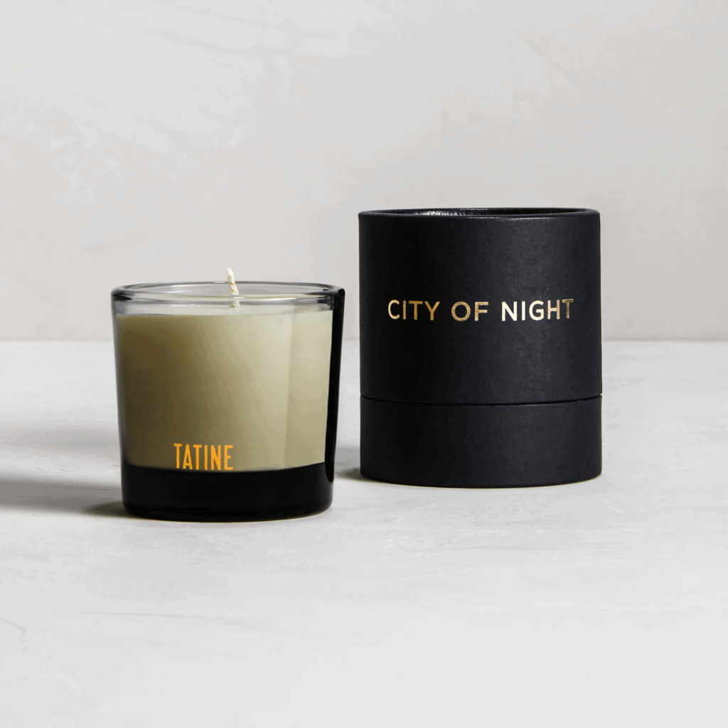 City of Night Scented Candle by Tatine