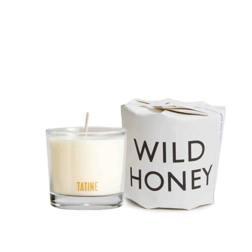 Wild Honey Scented Candle by Tatine