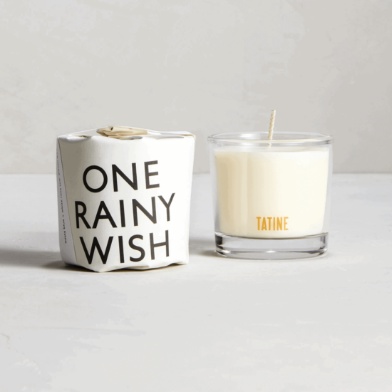 One Rainy Wish Scented Candle by Tatine