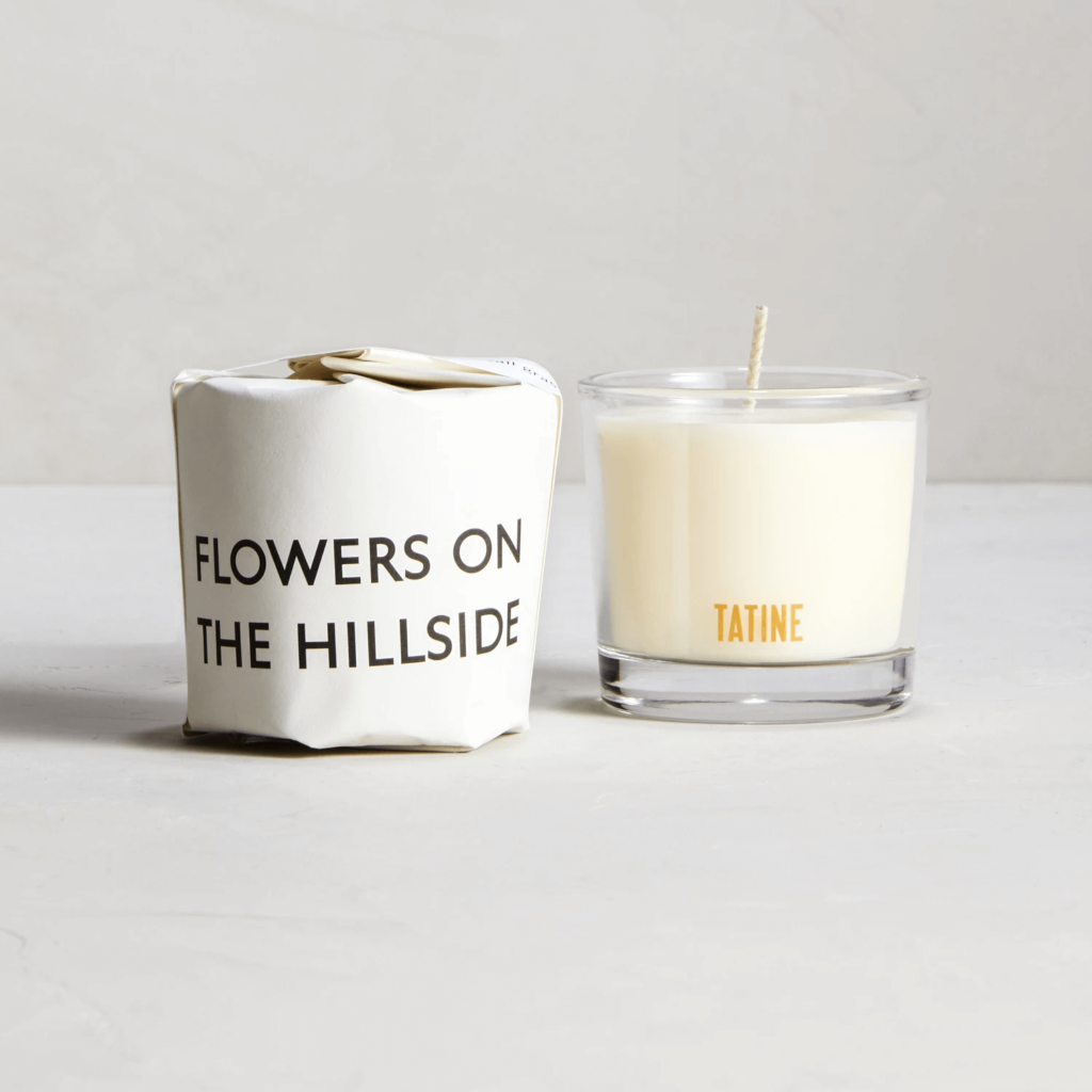 Flowers On The Hillside Scented Candle by Tatine