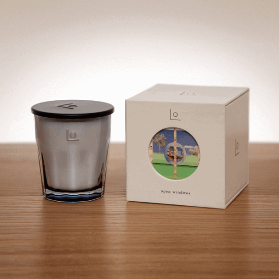 Open Windows Scented Candle by LO Studio