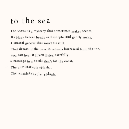 To The Sea Scented Candle by LO Studio