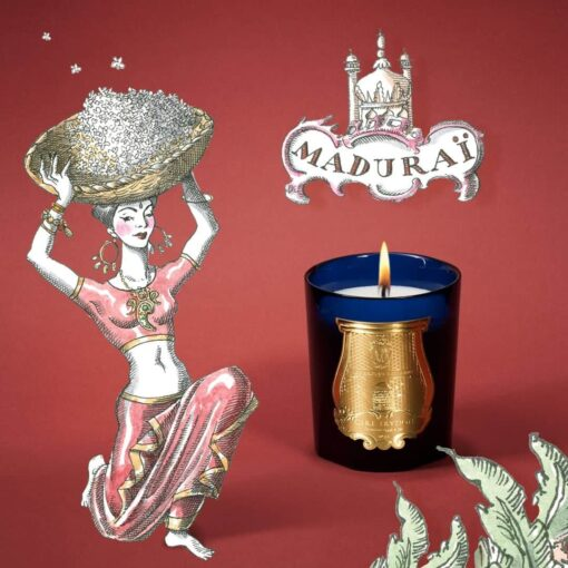 Maduraï (Jasmine) Scented Candle by Cire Trudon