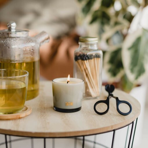 Gold Dust Votive Candle by Tatine