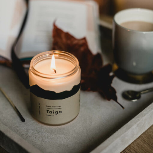 Taiga Candle by 42Pressed