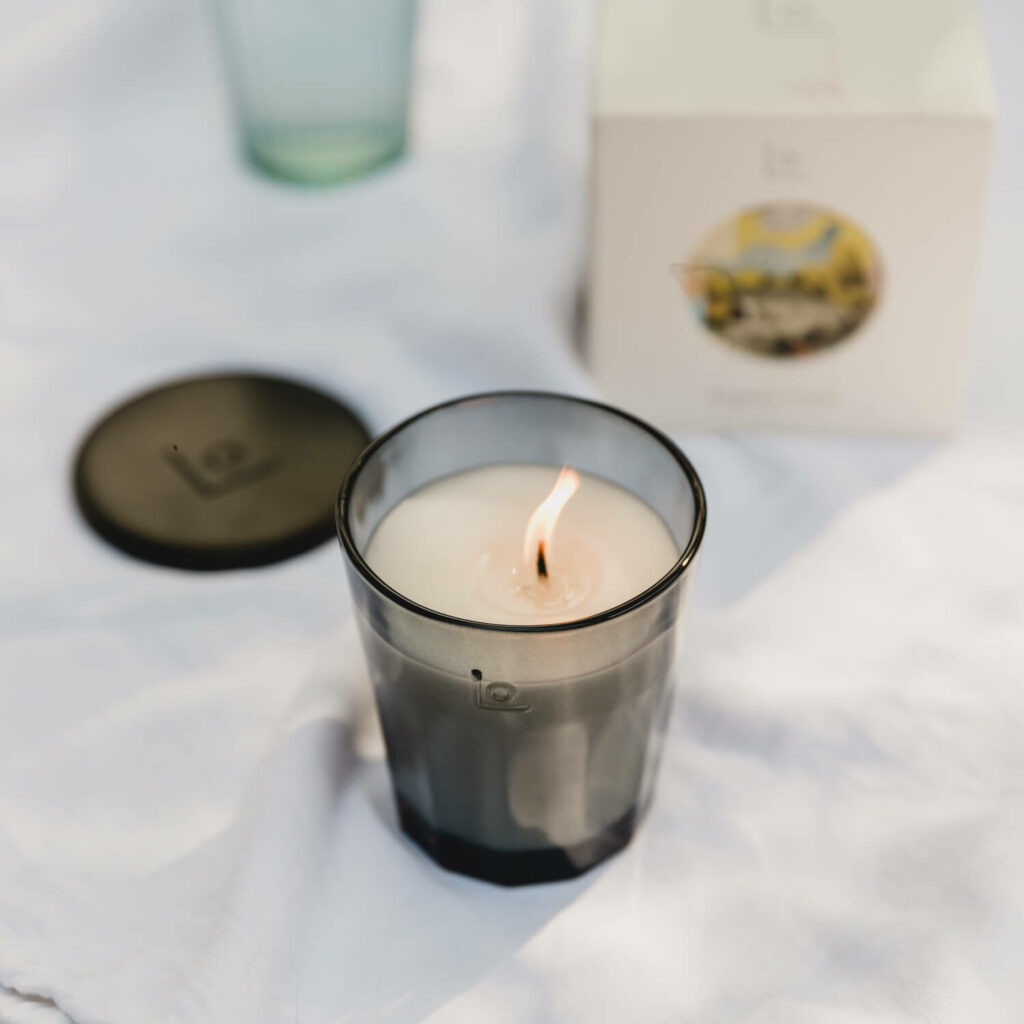 Bergamot Clouds Candle by LO Studio 1