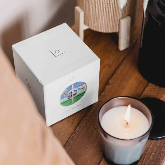 Open Windows Candle by LO Studio